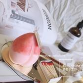 蠟燭材料包手工diy自制壽桃桃子少女心炸裂可愛水蜜桃ins風小眾香薰蠟燭模具-快速出貨