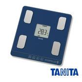 TANITA BC758 BL 自動辨識七合一體組成計(藍色)