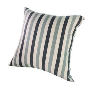 水洗棉條紋抱枕45x45cm