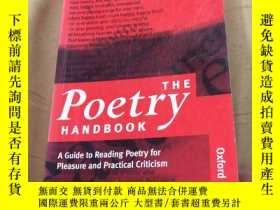 二手書博民逛書店The罕見Poetry HandbookY246305