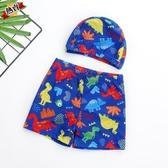 男童泳褲 兒童分泳衣褲套裝男孩大中童卡通泳裝小童寶寶游泳裝備 快速出貨