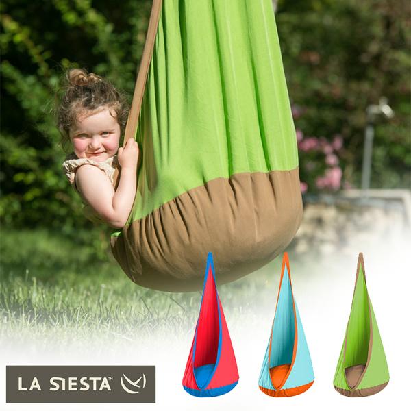 LA SIESTA JOKI 兒童戶外單人鳥巢吊椅 JKD70 / 城市綠洲 (戶外休閒 露營 野餐烤肉 郊遊 渡假 登山)