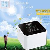淨化器  迷你空氣凈化器家用除甲醛臥室除二手煙負離子粉塵辦公室桌面小型 卡卡西