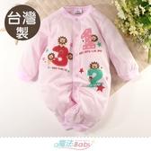 包屁衣 台灣製秋春季薄款長袖兩用兔裝 連身衣 魔法Baby