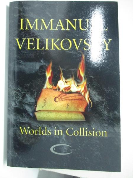 【書寶二手書T1/宗教_KE4】Worlds in Collision_Velikovsky, Immanuel