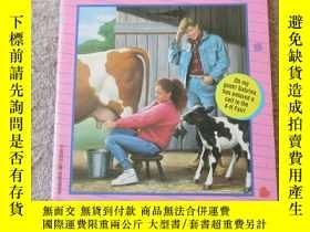 二手書博民逛書店Sabrina罕見and the calf-raising di