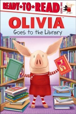 【Olivia系列讀本】OLIVIA   GOES TO THE LIBRARY  /L1