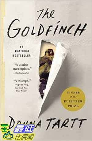 [104美國直購] 2015 美國暢銷書排行榜 The Goldfinch: A Novel (Pulitzer Prize for Fiction)