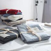 水洗棉床組單件純棉雙人被單1.8m床