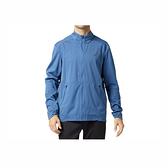 Asics [2011A854-400] 男女 運動 外套 亞洲版 防潑水 輕薄 防風 反光 休閒 穿搭 亞瑟士 藍