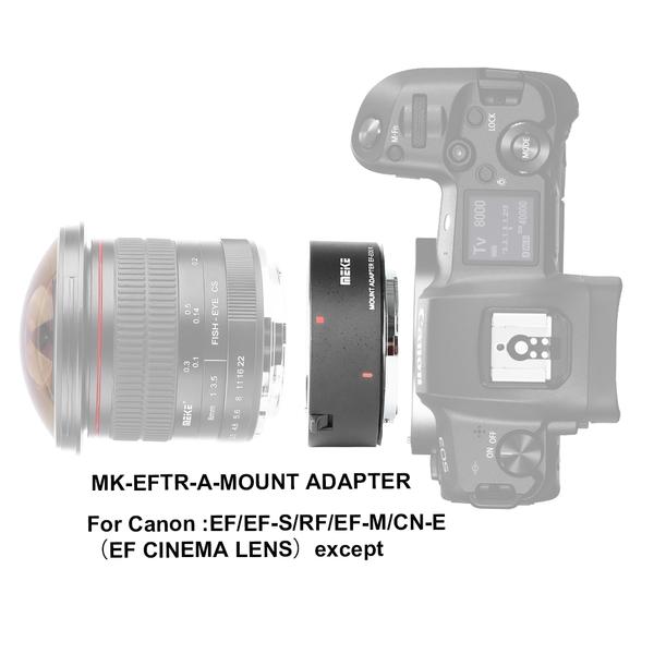 ◎相機專家◎ 現貨 Meike 美科 EF-EOS R 鏡頭轉接環 MK-EFTR-A Canon R5 R6 公司貨