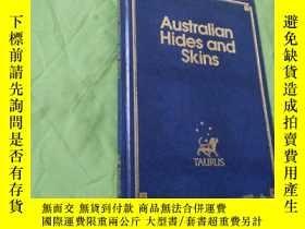 二手書博民逛書店Australian罕見Hides and Skins【英文原版