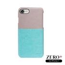 【愛瘋潮】Zero Plus/Zero+ 手做質感PU殼 手機殼 柔和雙色款 For iPhone 7