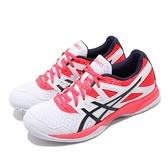 Asics 排球鞋 Gel-Task 2 白 紅 女鞋 運動鞋 【ACS】 1072A038101
