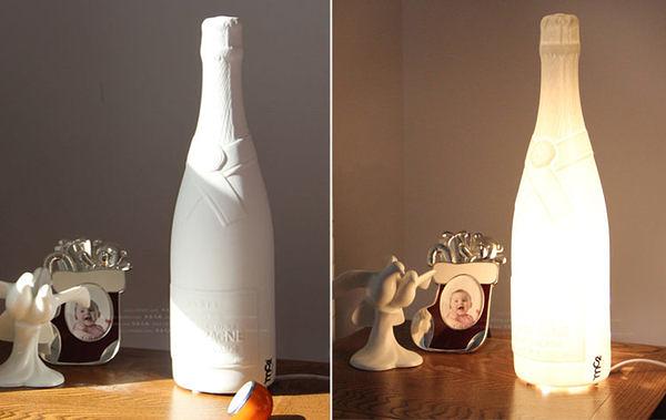 高溫白瓷/香檳形陶瓷燈