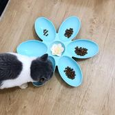 寵物貓碗狗碗多貓食盆貓咪用品狗盆貓盆貓咪聚餐碗多貓家庭用  ys1231『寶貝兒童裝』