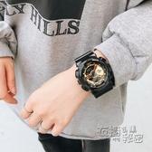 青少年高中生手錶男女學生運動防水潮鋼鐵俠漫威聯名紀念款電子錶 衣櫥秘密