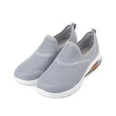 SKECHERS 健走系列 GO WALK AIR 套式運動鞋 灰白 124073GRY 女鞋