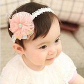 UNICO  韓版蕾絲網花 兒童髮帶/嬰兒髮帶/髮飾/髮圈/飾品/配件