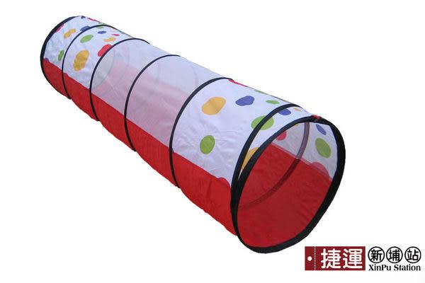 爬行水管隧道造型折疊帳篷兒童遊戲球屋048