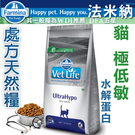 WDJ Farmina法米納.處方天然貓糧【極低敏水解蛋白2kg】VCU-9