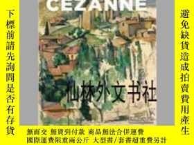 二手書博民逛書店【罕見】2014年出版 Cézanne: Site Non-Si