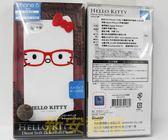 {新安} 先創公司貨 Apple IPhone 5/5S SE KITTY  凱蒂貓 立體蝴蝶結保護套 (紅色眼鏡) 保護殼 手機殼
