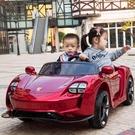 雙人座兒童電動車四輪4驅汽車玩具車汽車可...
