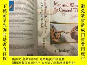 二手書博民逛書店Man罕見and Woman He Created Them: