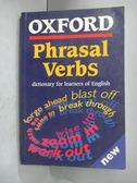 【書寶二手書T5/字典_GHR】Oxford Phrasal Verbs Dictionary for…