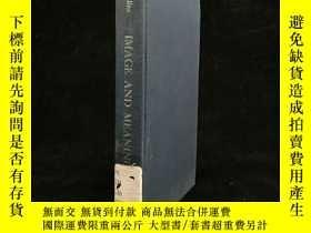 二手書博民逛書店1968年罕見Image and meaning : metap