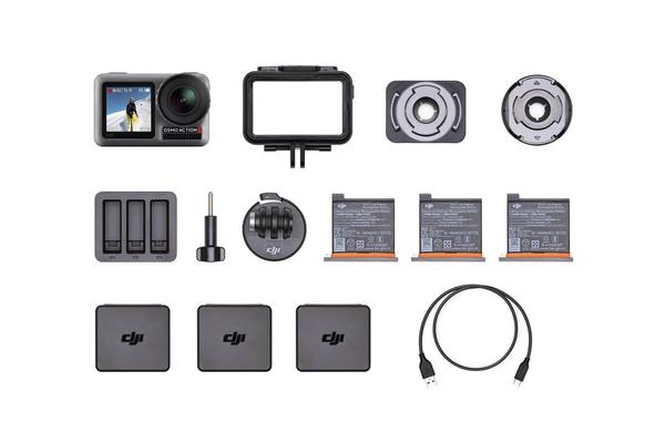 【即日起~11/16止】DJI Osmo Action +《充電管家套裝》雙螢幕 11M防水 超強防手震 4K/60P HDR【公司貨】