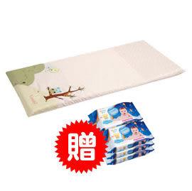 Combi 貓頭鷹床墊-粉色(L)【送Combi海洋深層水濕紙巾20抽3入x2串】【佳兒園婦幼館】
