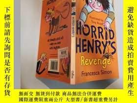 二手書博民逛書店horrid罕見henry s revenge 可怕的亨利復仇.Y200392