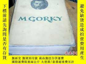 二手書博民逛書店(1948年印)罕見M.GORKY (selected work