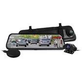 【南紡購物中心】CARSCAM行車王 GS9400 GPS測速全螢幕觸控雙1080P後視鏡行車記錄器