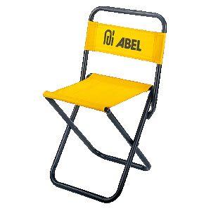 [奇奇文具]【力大 ABEL 童軍椅】力大ABEL NO.60304 靠背椅/輕便椅/折疊椅/露營椅/休閒椅/豋山椅 (黃色)
