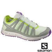 【SALOMON 法國】KOWLOON 女戶外休閒鞋『綠』多功能鞋.健行鞋.登山鞋.短筒 328105