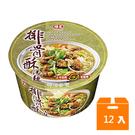 味王排骨酥湯麵碗(12入/箱)*4箱【合迷雅好物超級商城】