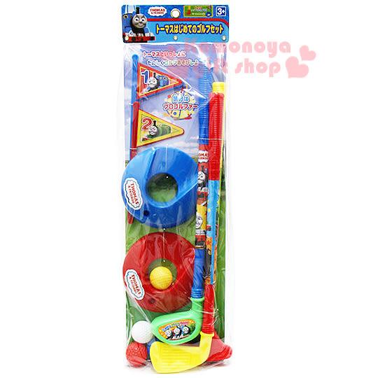 〔小禮堂嬰幼館〕湯瑪士小火車 高爾夫球組玩具《紅黃藍綠.袋裝》4971413-01304