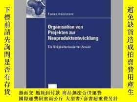 二手書博民逛書店Organisation罕見Von Projekten Der NeuproduktentwicklungY4