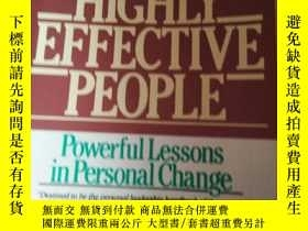 二手書博民逛書店THE7HABITSOF罕見HIGHLY EFFECTIVE P