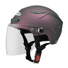【東門城】ZEUS ZS126DC 素色(消光暗紫) 半罩式雪帽 二分之一帽