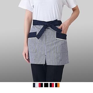 晶輝專業團體制服CH142*酒店服務員工作服 西餐廳廚房男女系腰廚師圍裙 飯店服務員圍裙