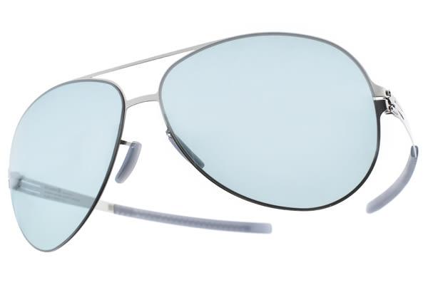 Ic! Berlin 太陽眼鏡 RAF S. CHROME (銀) 德國薄鋼工藝 # 金橘眼鏡