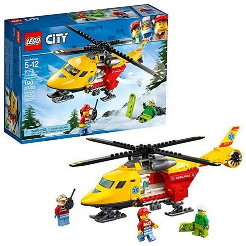 LEGO 樂高  City Ambulance Helicopter 60179 Building Kit (190 Piece)