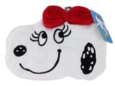 【卡漫城】 貝兒 絨毛 零錢包 易拉扣 ㊣版 Belle 票卡包 Snoopy 妹妹 史奴比史努比 伸縮 雜物收納包