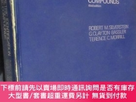 二手書博民逛書店SPECTROMETRIC罕見IDENTIFICAION OF ORGANIC COMPOUNDS (third