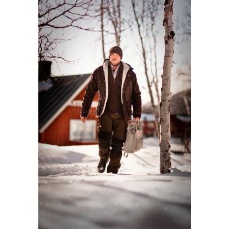 ╭OUTDOOR NICE╮瑞典FJALLRAVEN Barents Trousers 男款 G-1000 多功能超耐磨長褲/登山褲/工作褲 290 深棕/黑