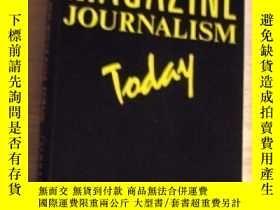 二手書博民逛書店Magazine罕見Journalism Today (butterworth-heinemann Media S